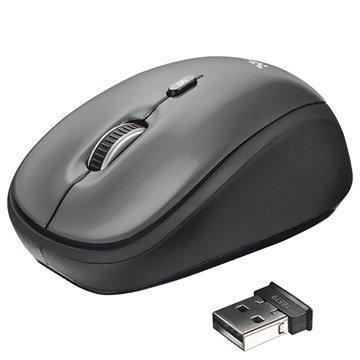 Trust Yvi Wireless Mouse Black