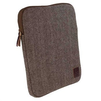 Tuff-Luv Herringbone Tweed -kotelo Tabletti 10 Ruskea