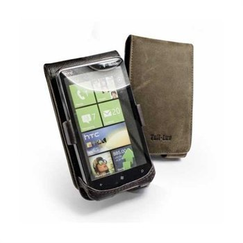 Tuff-Luv Saddleback Leather Case HTC HD7 HTC Schubert