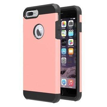 Tuff-Luv Slim Armour 2-kerroksinen TPU suojakuori iPhone 7 Plus Ruusukulta