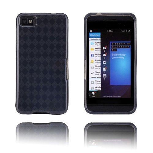 Tuxedo Musta Blackberry Z10 Suojakuori