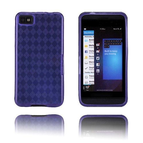Tuxedo Violetti Blackberry Z10 Suojakuori