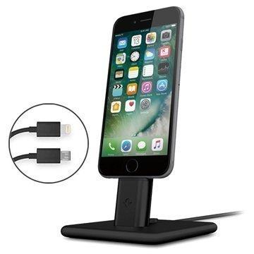 Twelve South HiRise 2 Deluxe Latausjalusta iPhone/iPad Musta