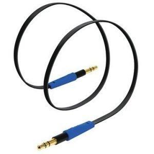 Tylt 3.5mm Stereo Audiokaapeli 1m Musta / Sininen