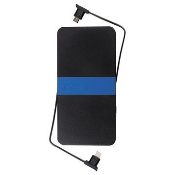 Tylt Energi 5K+ 5200mAh Power Bank Black / Blue