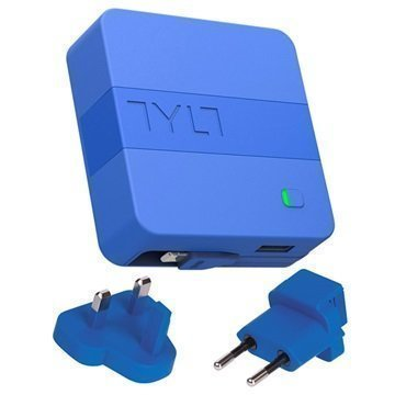 Tylt Energi 6K+ Lightning Smart Charger / Power Bank Blue