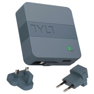 Tylt Energi 6K MicroUSB Smart Charger / Power Bank Grey