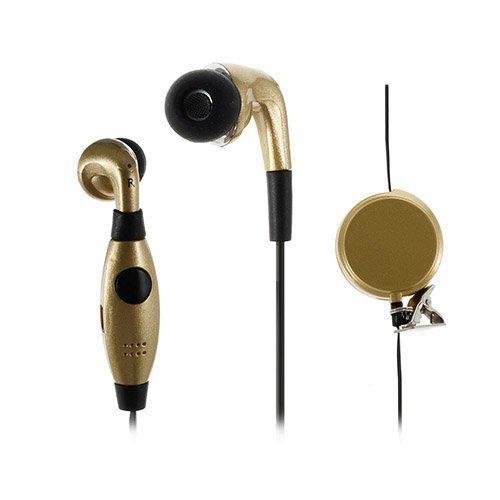 U-Feeling U90i Nappikuulokkeet Mikrofonilla Älypuhelimille Kulta