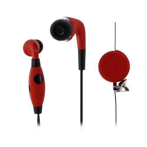U-Feeling U90i Nappikuulokkeet Mikrofonilla Älypuhelimille Punainen
