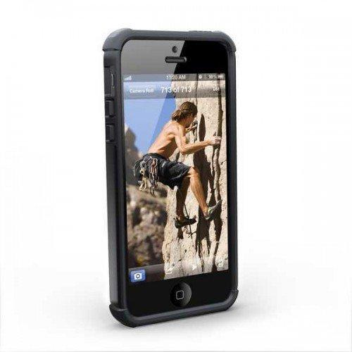 UAG Urban Armor Gear Composite MAVERICK kestävä suojakotelo iPhone 5 / 5s ja 5SE Musta