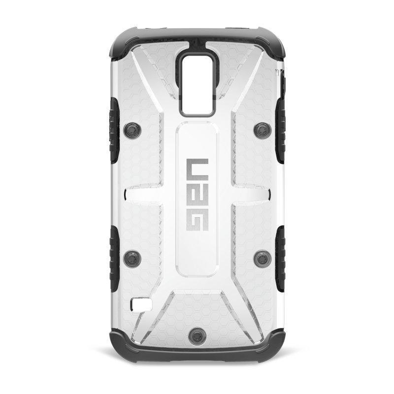UAG Urban Armor Gear Composite kestävä suojakotelo Samsung Galaxy S5 musta / läpinäkyvä
