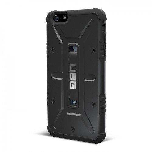 UAG Urban Armor Gear Composite kestävä suojakotelo iPhone 6 Plus ja 6S Plus musta