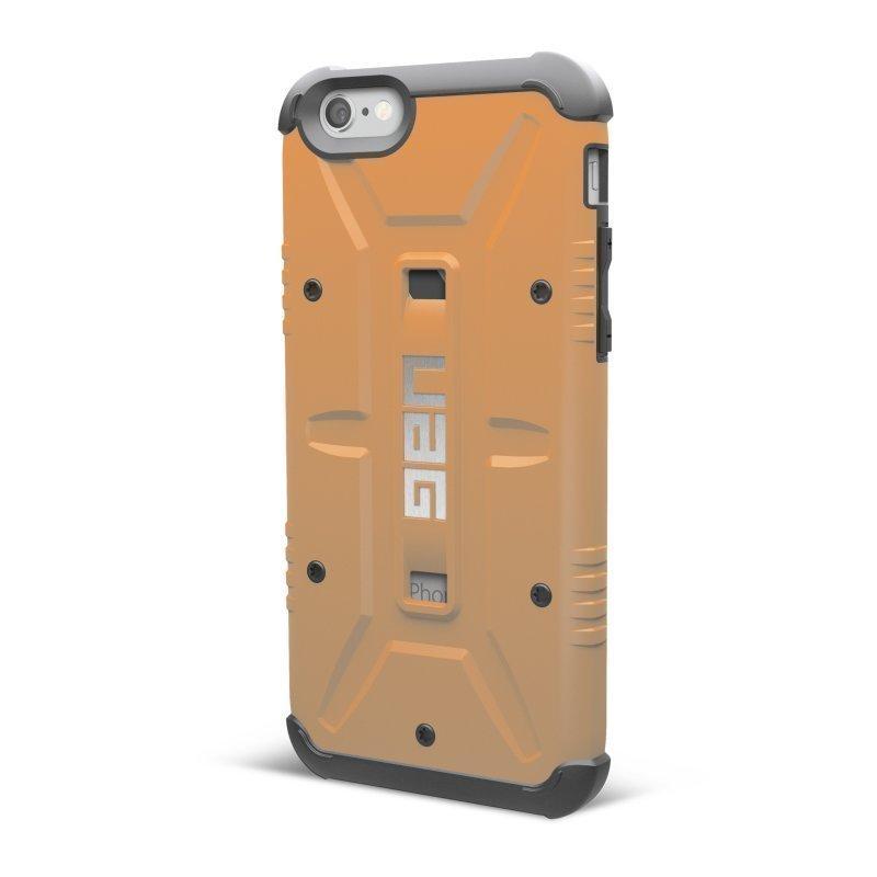 UAG Urban Armor Gear Composite kestävä suojakotelo iPhone 6 oranssi