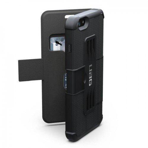 UAG Urban Armor Gear Folio kestävä suojakotelo iPhone 6 Plus / 6S plus musta