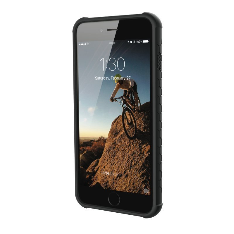 UAG Urban Armor Gear Monarch Premium kestävä suojakotelo iPhone 7 / 6 / 6S Grafiitinharmaa