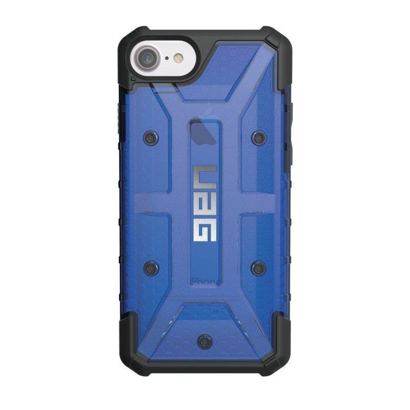 UAG Urban Armor Gear Plasma kestävä suojakotelo iPhone 7 / 6S / 6 Musta / Läpinäkyvä sininen