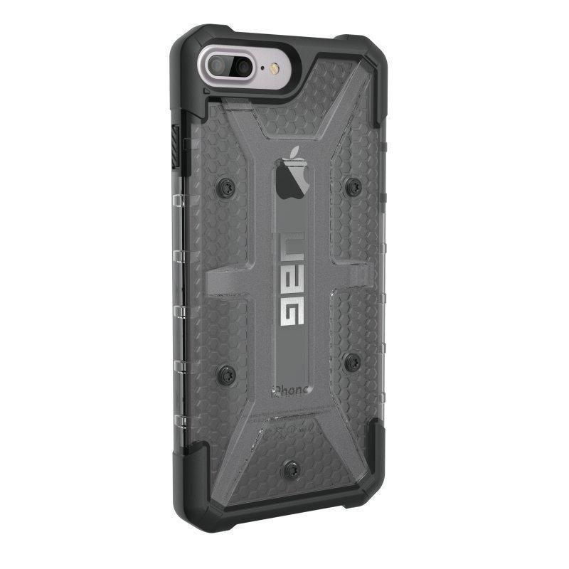 UAG Urban Armor Gear Plasma kestävä suojakotelo iPhone 7 Plus / 6S Plus / 6 Plus Musta / harmaa läpinäkyvä