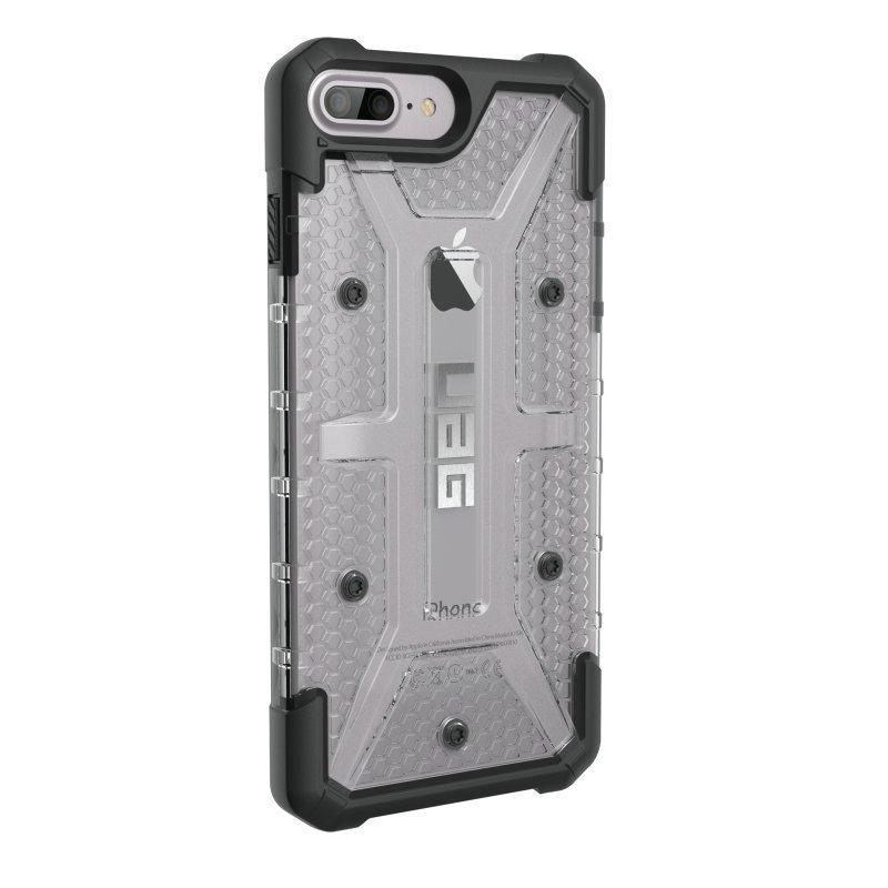 UAG Urban Armor Gear Plasma kestävä suojakotelo iPhone 7 Plus / 6S Plus / 6 Plus Musta / läpinäkyvä