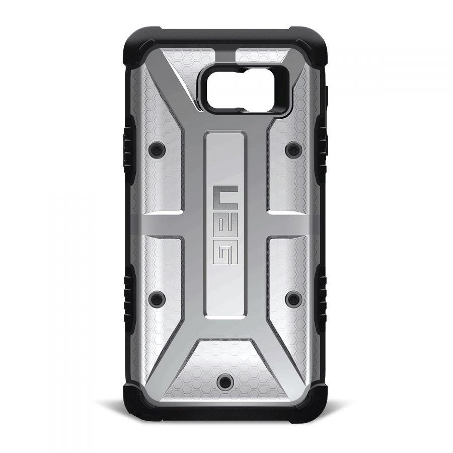 UAG Urban Armor Gear Samsung Galaxy Note 5 Composite Suojakotelo -Ash/Black