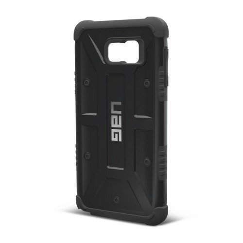 UAG Urban Armor Gear Samsung Galaxy Note 5 Composite Suojakotelo -Black/Black