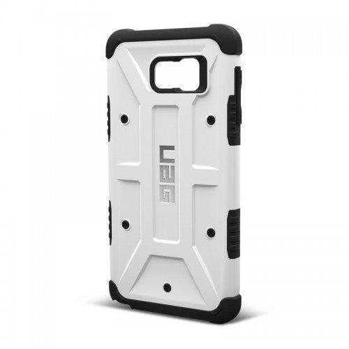 UAG Urban Armor Gear Samsung Galaxy Note 5 Composite Suojakotelo -White/Black