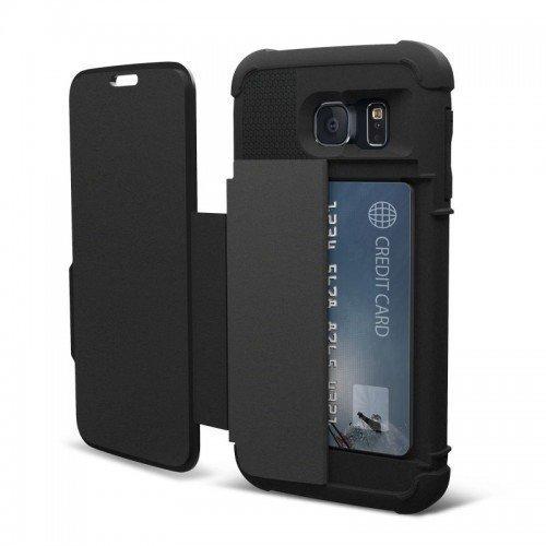 UAG Urban Armor Gear Samsung Galaxy S6 Folio Case-Black/Black