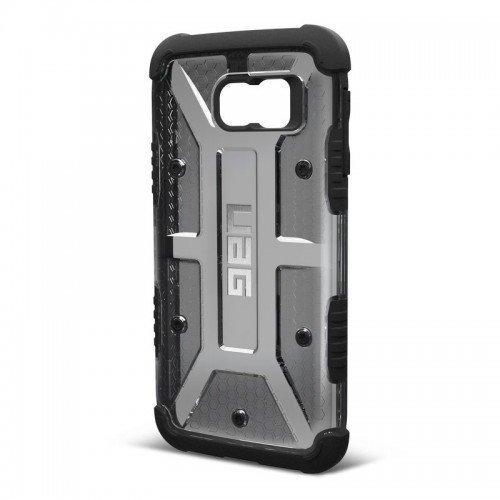 UAG Urban Armor Gear Samsung Galaxy S7 Edge Composite Case Läpinäkyvä Harmaa/Musta