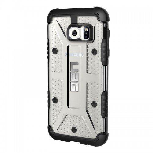 UAG Urban Armor Gear Samsung Galaxy S7 Edge Composite Case Läpinäkyvä /Musta