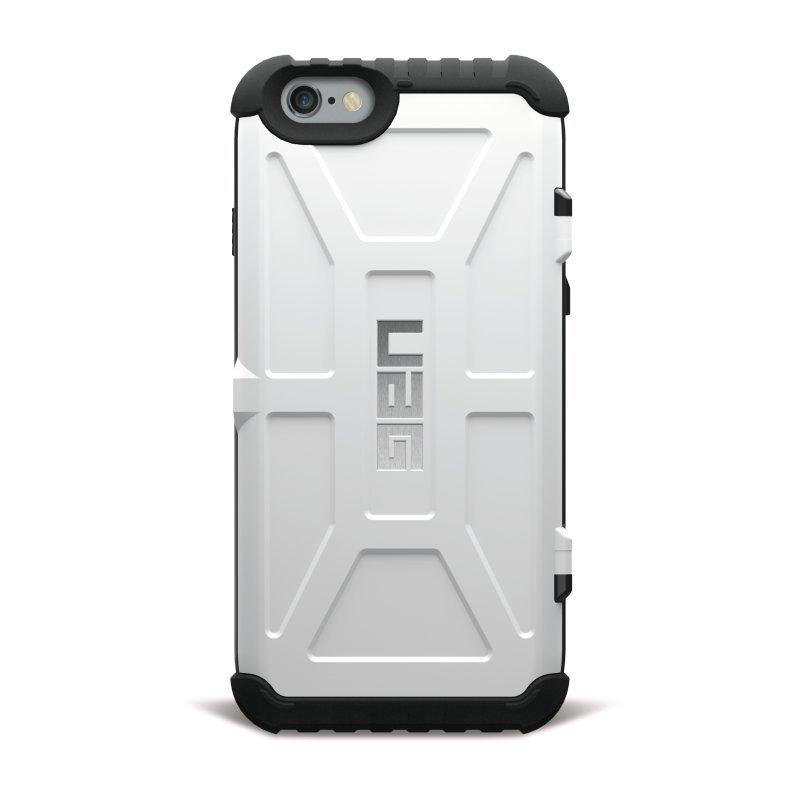 UAG Urban Armor Gear Trooper Card Case kestävä suojakotelo iPhone 7 / 6 / 6S Musta-valkoinen