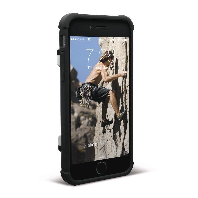 UAG Urban Armor Gear Trooper Card Case kestävä suojakotelo iPhone 7 / 6 / 6S Musta