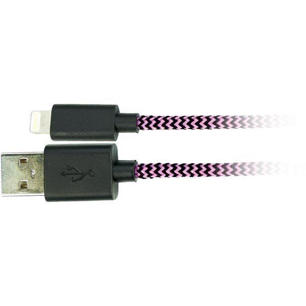 USB-Lightning kaapeli Lightning ur USB A ur MFi 1m vaal.pun./mu