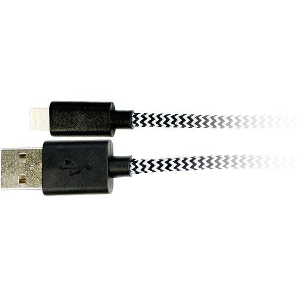 USB-Lightning kaapeli Lightning ur USB A ur MFi 1m val/mu