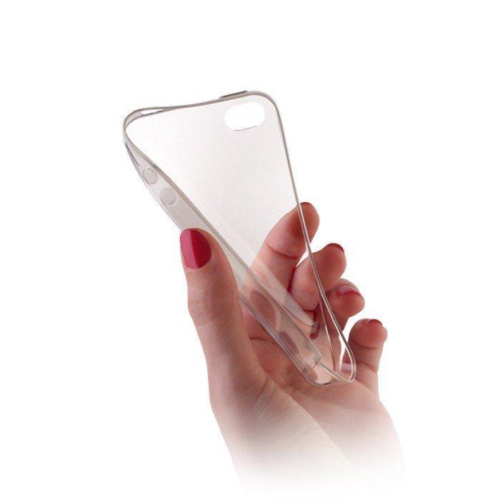Ultra Slim TPU Case silikoninen suojakotelo Samsung Galaxy S5 G900F läpinäkyvä
