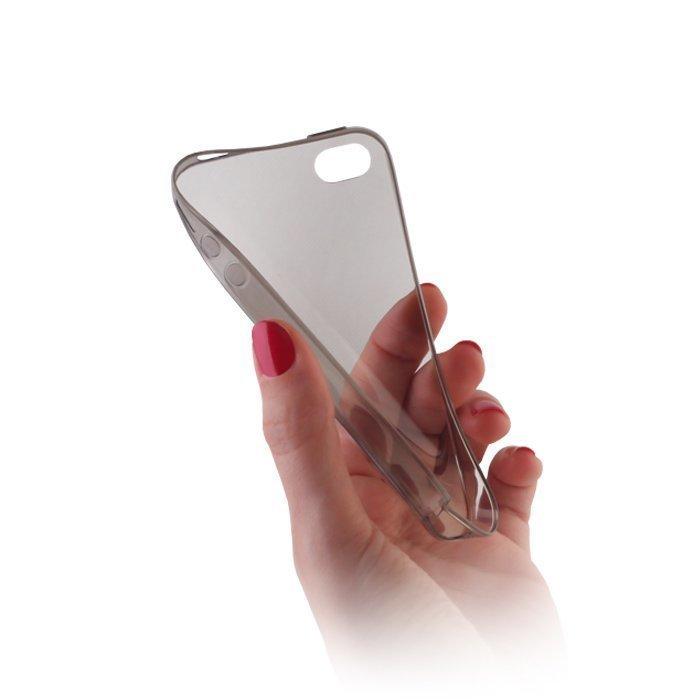 Ultra Slim TPU Case silikoninen suojakotelo iPhone 6 läpinäkyvä-harmaa