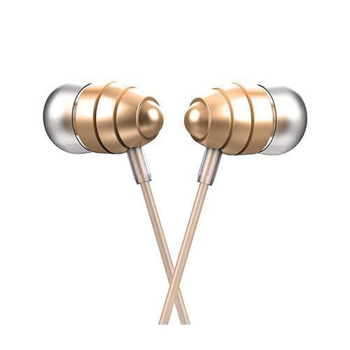 Universaali Korvanappikuulokkeet Mikrofonilla Älypuhelimille Kulta