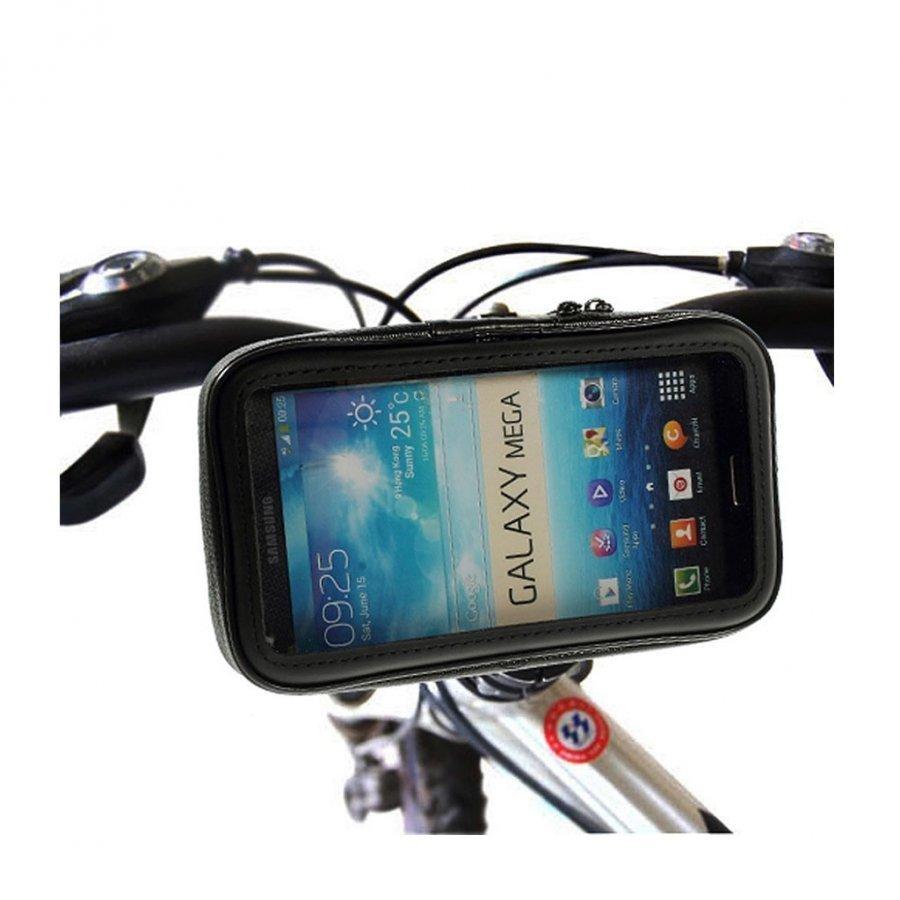 Universaali Pyöräteline Ohjaustankoon Älypuhelimille