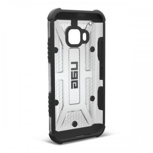 Urban Armor Gear HTC One M9 Composite Suojakotelo Ice/Black- Suojakalvolla