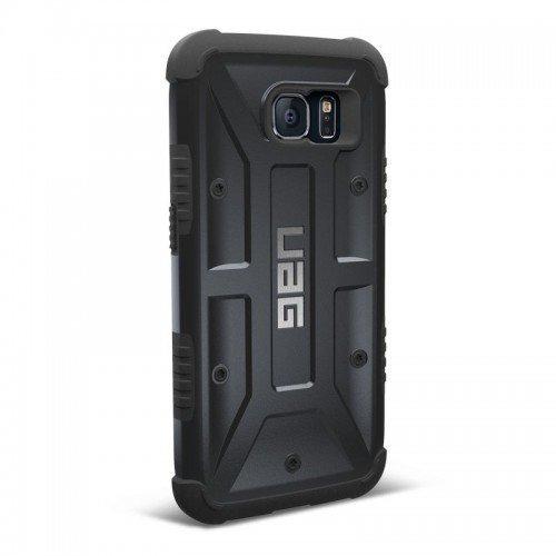 Urban Armor Gear Samsung Galaxy S6 Composite Suojakotelo Black/Black- Suojakalvolla