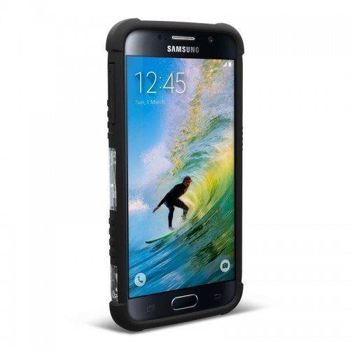 Urban Armor Gear Samsung Galaxy S6 Composite Suojakotelo -ICE/Black- Suojakalvolla