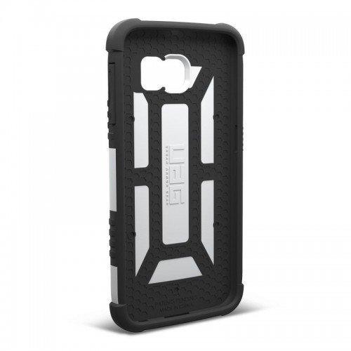 Urban Armor Gear Samsung Galaxy S6 Composite Suojakotelo -White/Black- Suojakalvolla