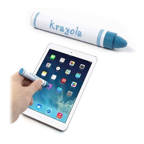 Värikynän Näköinen Kosketusnäyttökynä Älypuhelimille Ja Tableteille Sininen