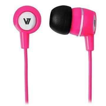 V7 In-Ear Stereo Headset Pink