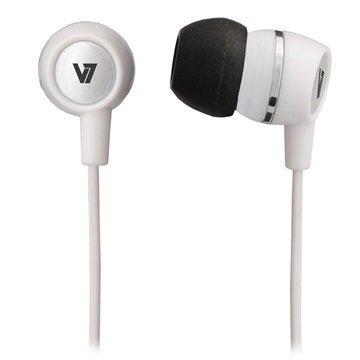 V7 Nappikuulokkeet Valkoinen