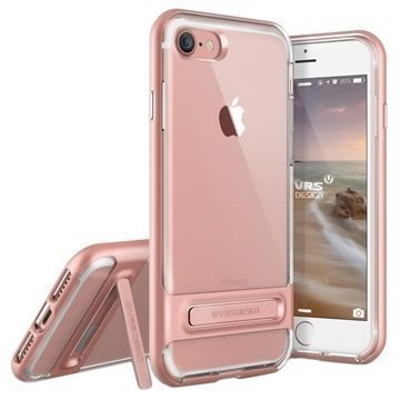 VRS Design Crystal Bumper suojakuori iPhone 7 Ruusukulta