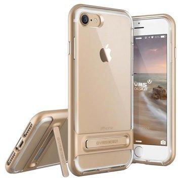 VRS Design Crystal Bumper suojakuori iPhone 7 Samppanjakulta