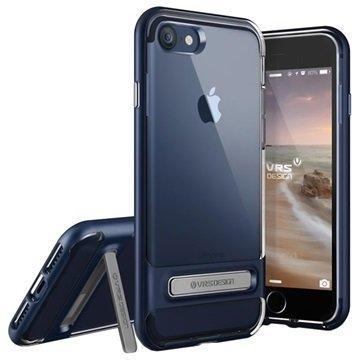 VRS Design Crystal Bumper suojakuori iPhone 7 Tummansininen
