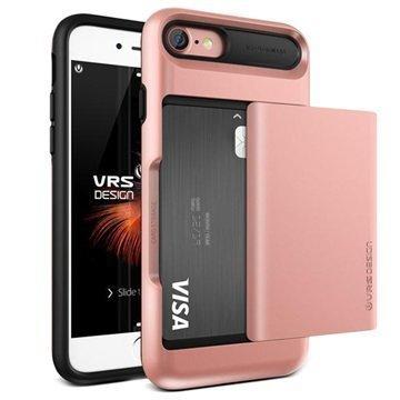 VRS Design Damda Glide suojakuori iPhone 7 Ruusukulta