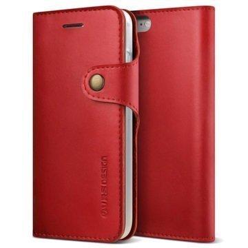 VRS Design Native Diary lompakkokotelo iPhone 7 Punainen