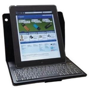 Verbatim Folio Pro Slim with Nordic Bluetooth Keyboard for iPad 2