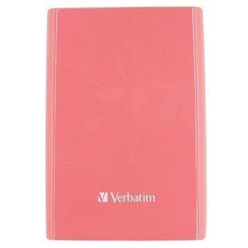 Verbatim Store 'n' Go Ulkoinen Kiintolevy 1TB Pinkki